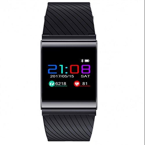 Tracker d'Activité avec Cardiofréquencemètre,Fil de Suture,Tracker Sommeil,d'Activité Fitness,Compteur de Calories,Sweatproof,Lumière LED à l'obscurité de l'iPhone iOS Android Samsung