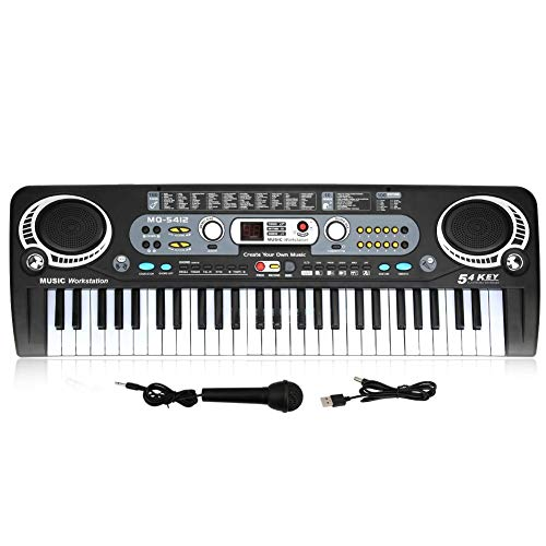 Best Price 54-Key Electronic Keyboard Piano,Kids Digital Keyboard Piano Musical Instruments Toy for ...