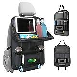 車用シートバックポケット Apsung 車用収納ポケット シートバックポケット 1個 後部座席収納 折り畳みテープ付き 防水防汚 多機能 大容量 耐摩耗 取り付け簡単