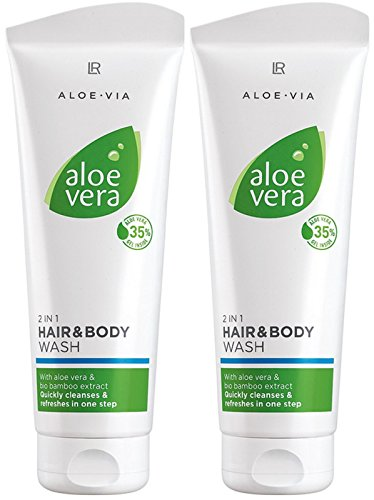LR ALOE VIA Aloe Vera 2 in 1 Haar- und Körpershampoo (2x 250 ml)