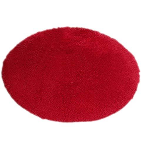 Tapis de douche ou de chambre anti dérapant - Tapis de yoga en peluche - #1 Cf0278 - 40 x 40 cm - Amesii - Home Decor