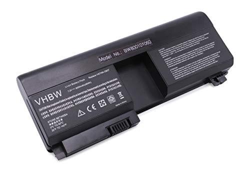 vhbw Batterie LI-ION 6600mAh 7.2V Noir Compatible pour HP Pavilion remplace 441131-001, 437403-541, HSTNN-XB37, 437403-321, HSTNN-UB37, 431325-321