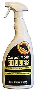 Rugremedy UK Ltd - Polilla para alfombras (500 ml)
