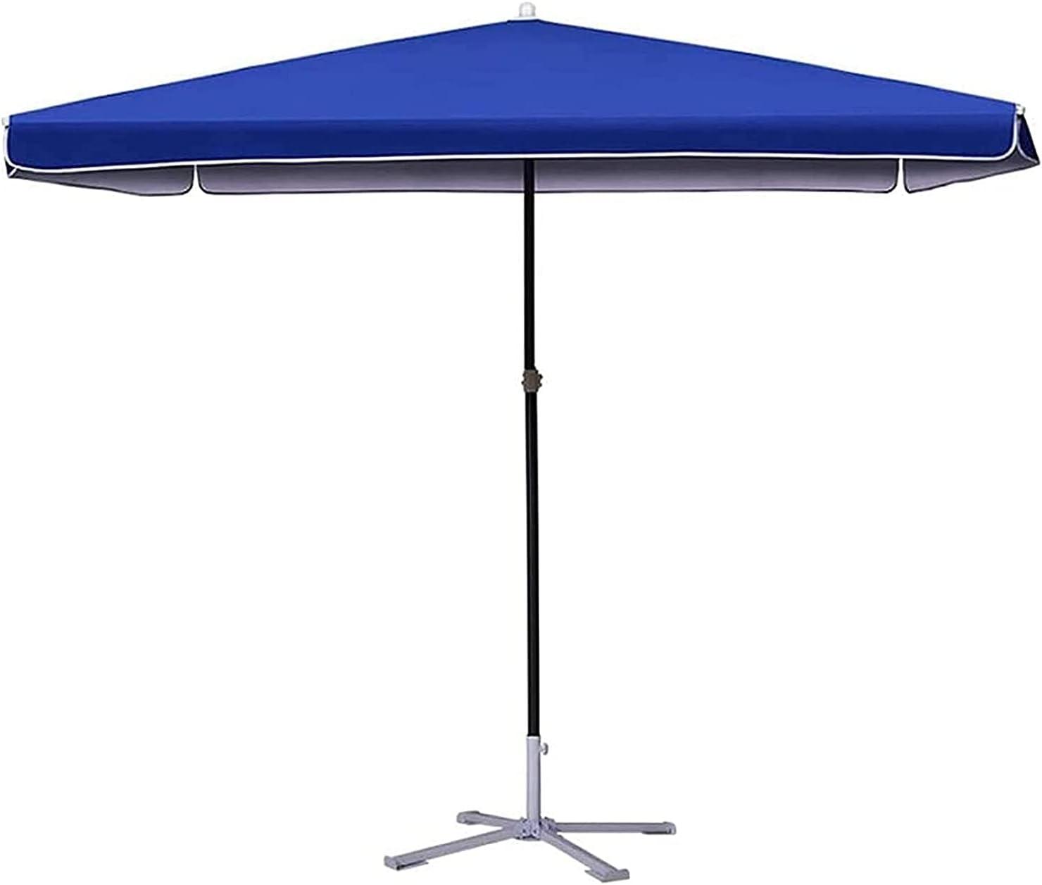 FENGNV Large Parasol Brand Ranking TOP11 new Umbrella Blue Mar Outdoor Patio Rectangular