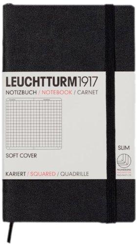Leuchtturm 329869 quaderno per scrivere Nero A6