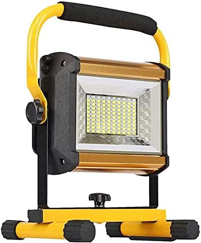 Chanety. Proiettore a LED 100W Ricaricabile GUIDATO Lavoro Leggero   IP65. Impermeabile Super Luminoso 800 0LM. Proiettore all'aperto for l'illuminazione di Sicurezza Garagege Garden