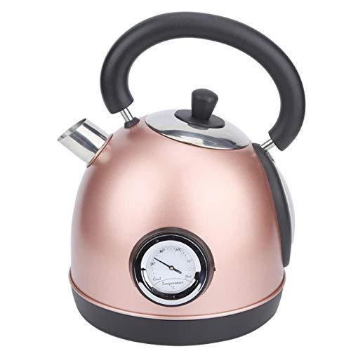 GAX 1.8L Bouilloire électrique en Acier Inoxydable Cuisine Domestique Chauffage Rapide théière bouillante chaudière à Eau, Rose