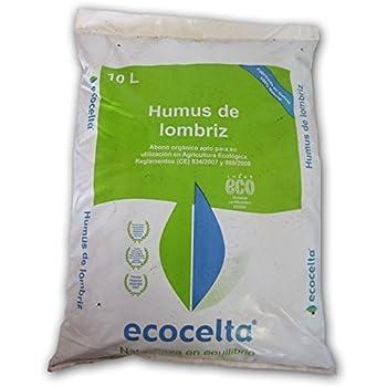 Humus de Lombriz Asturhumus 100% Ecológico - 20 kg: Amazon.es: Jardín
