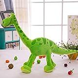 zcm Giocattolo Peluche 70 Cm Dinosauro Arlo Verde Dinosauro Farcito Peluche Peluche per Regalo per Bambini