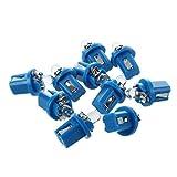 SATIC 10 T5 Bombilla LED con Luz Azul para Salpicadero coche 12V
