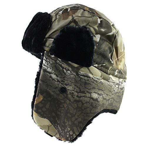 XCLWL Russen muts heren hoeden winter trooper Hat met Outdoor Sports Ski Warm Ear Flaps Hat
