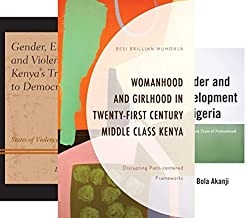 Critical African Studies in Gender and Sexuality (9 Book Series)