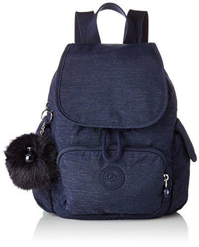 Kipling - City Pack Mini, Mochilas Mujer, Azul (Spark Night), 14x27x29 cm (B x H T)