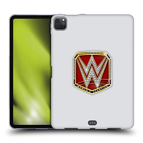 Head Case Designs Officially Licensed WWE RAW Women's Champion Title Belts Soft Gel Case Compatible with Apple iPad Pro 11 (2020)