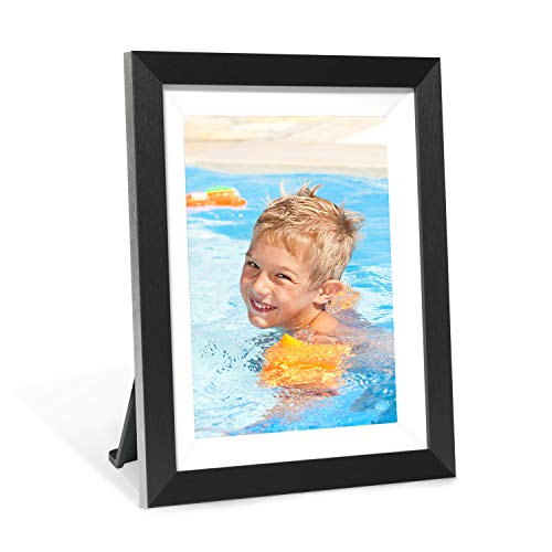 AEEZO Smart Digital Picture Frame 9.7 inch IPS Touch Screen FHD 2K display, 16GB Storage, Auto-Rotate, WIFI Cloud Digital Photo Frame Free Unlimited Storage Easy Setup to Share Photos & Videos via App Digital Frames Picture