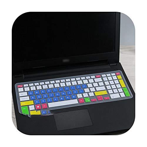 Silikon-Schutzhülle für Laptop mit 15,6 Zoll (39,6 cm) für DELL Latitude 3500 3550 3560 3570 3580 3590 Pc Laptop-Candyblue
