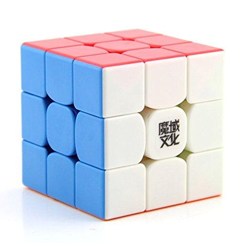 Moyu MAGNETISH *Weilong GTS v2 M* - Magnetisiert 3x3 Profi & Wettkampf Speed Cube Geschwindigkeitswürfel Magic Cube Zauberwürfel 3D Puzzle - STICKERLESS