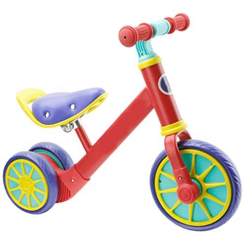 NBgycheche Triciclo Trike Triciclo Bicicleta de Equilibrio bebé PresentTrike, con la manija for niños Bicicleta Vespa bebé Walker Kid Bicicletas Juguete de la Bici 1-3-6 Años de Edad