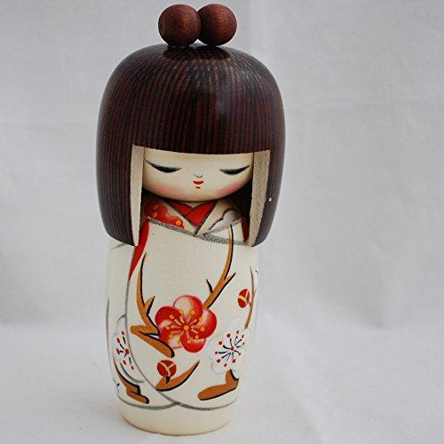 Japanische Kokeshi Puppe–Handarbeit in Japan–harunoyume/Spring Dream