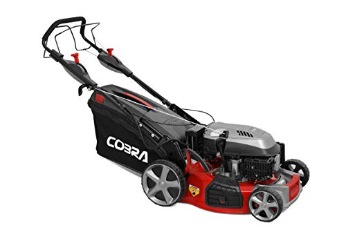 Cobra MX484SPCE 48cm (19in) Petrol Lawnmower with 4 Speed Drive, Electric push button start system