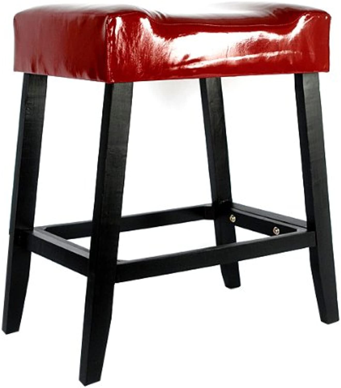 Timeless Reflections Counter Stool, Red
