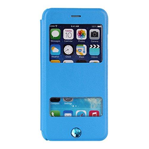 EOZY-Custodia per iPhone 6 Finestra da 4.7 Pollici Cover Protezione per Fronte e Retro Copertura Cellulare