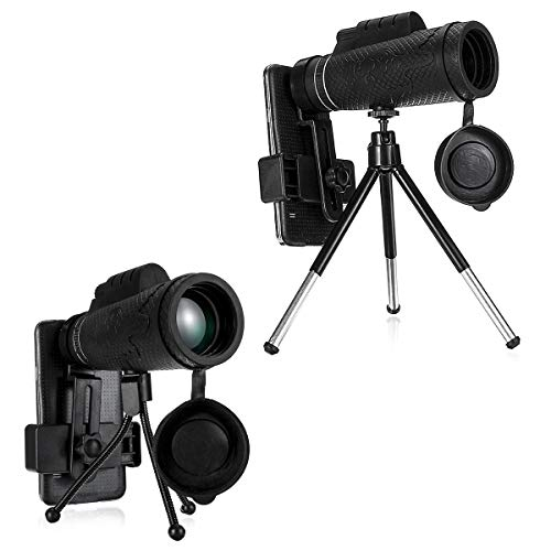 FEIYI Pesca y caza 50 x 60 HD lente óptica zoom monoculares...