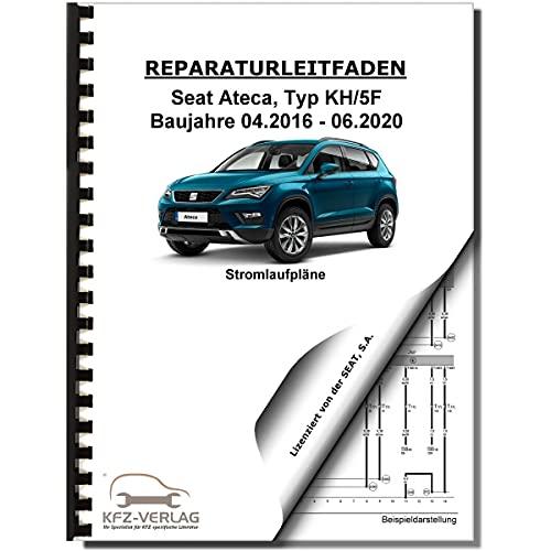 SEAT Ateca Typ KH ab 2016 Schaltplan Stromlaufplan Verkabelung Elektrik Pläne