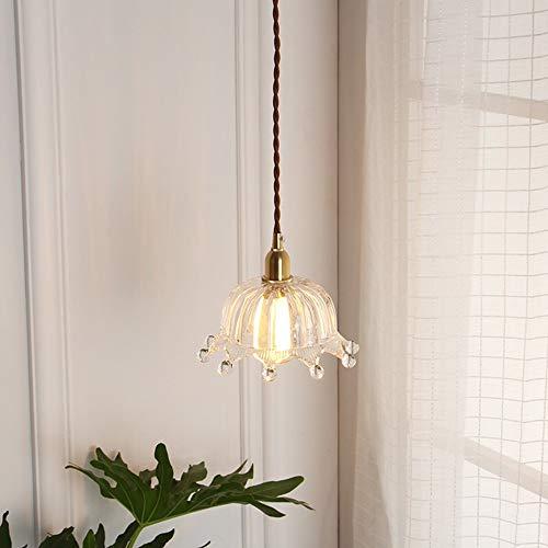 The only Good quality binnenruimte hanglamp Nordico garderobe Corridoio voor kinderen Princessin kroonluchter van glas messing