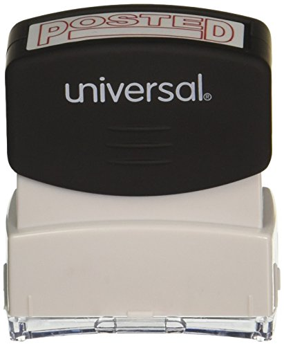 Universal Message Stamp, Posted, Pre-Inked One-Color, Red (10065)