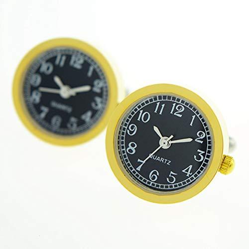 Gemelos Para Hombres, Oro Electrónico Inoxidable Watch Puede Ir Movimiento Core Reloj...