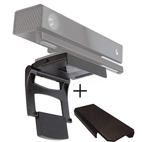 Kinect TV-Halterung, Kailisen adujustable TV Clip Halterung für Xbox One mit Kamera Cover