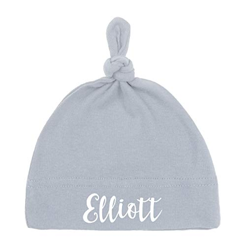 Personalised newborn hat for baby boy