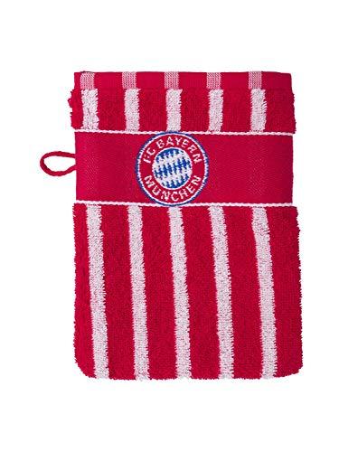 FC Bayern München Waschhandschuh Logo Mia san mia