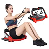 MBB Ab Crunch Machine,Exercise Equipment for Home Gym Equipment for Strength Training with Resistance Bands, Abs and Total Body Workout,Sole Brand and Patent Owner