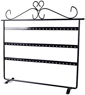 Niome 66 Holes Hanging Earring Holder Jewelry Organizer Display Stand Rack