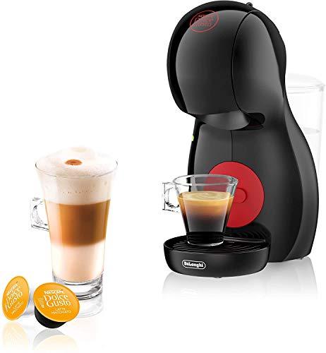 De'Longhi Nescafé Dolce Gusto Piccolo XS EDG 210.B Kapselmaschine (für heiße und kalte Getränke, 15 bar Pumpendruck, manuelle Wasserdosierung) schwarz