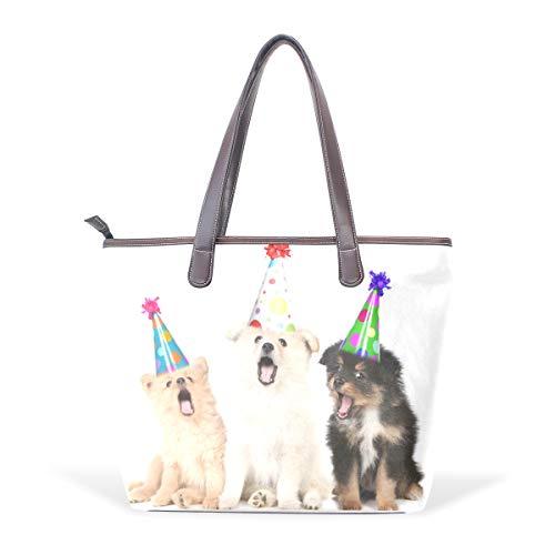 DEZIRO - Bolso de mano para llevar al hombro para perros, color,...