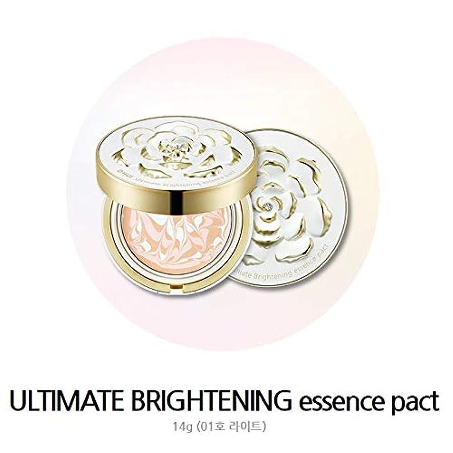 オーガニック盲目添加剤OHUI ULTIMATE brightening essence pact 14g*2 NO.1 Light