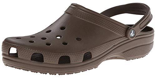 Crocs Classic Clog|Comfortable Slip On Casual Water Shoe, Chocolate, 8 M US Women / 6 M US Men