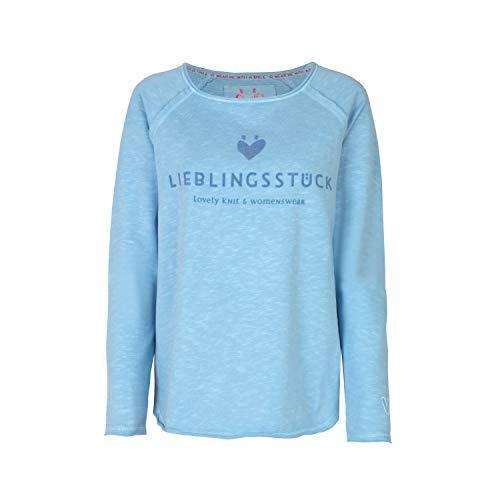 Lieblingsstück Sweatshirt Größe M Blau (432 skyway blue)
