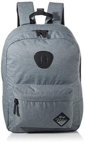 Nitro Urban Classic, Old School Daypack mit gepolstertem Laptopfach, urbaner Streetpack, Alltagsrucksack, Schulrucksack, Schoolbag, 20 L, Black Noise