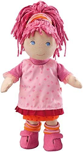 HABA Little Scamp Lilli 12 Soft Doll with Rosa Hair and Freckles by Habermaas