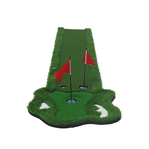Buy Bargain Durable Environmental Golf Artificial Green Golf Putter Cutting Rod Exerciser Portable G...