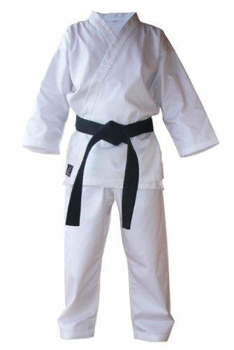 Double Y - Kimono/Karategi da Karate, Colore: Bianco, Bianco (Bianco), 200