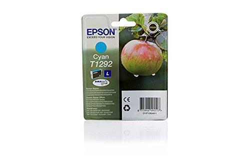 Original Epson C13T12924010 / T1292 Tintenpatrone Cyan für Epson Stylus Office BX 625 FWD