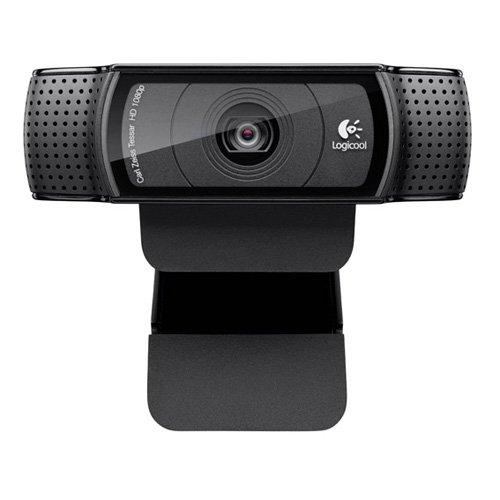 Logitech C920 - webcams (1920 x 1080 Pixels, 1080p, 720p, H.264, USB 2.0, Noir, Clip)