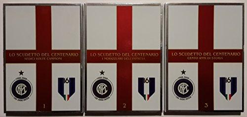 F.C. Internazionale - Inter: '2007-2008: Lo Scudetto del Centenario - Cento Anni di Storia / Cento Anni Inter' - Opera Completa (3 Dvd + Booklet Interno) (Edizione Editoriale)