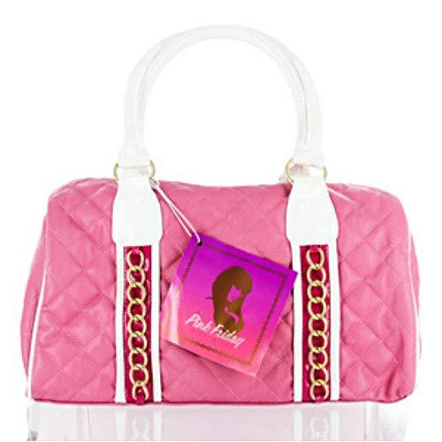 "Nicky Minaj ""Pink Friday"" Pink and White Satchel"