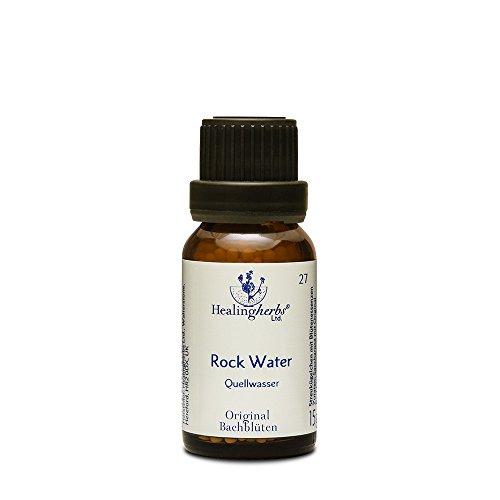 Healing Herbs Bachblüten Rock Water Globuli, 15 g